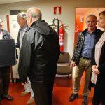 Un moment de l'acte de lliurament dels ordinadors a les entitats // Ajuntament de Sant Boi de Llobregat
