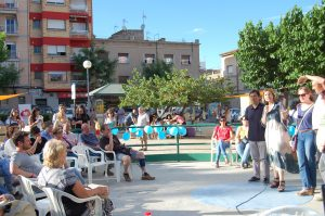 L'alcaldessa Lluïsa Moret intervé en el CoBoi FEST // Marc Pidelaserra