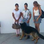 Elodie Rouzlani, Thomas Rouzlani, Binex i Ció Lerma, Regidora de Tinença Responsable i Benestar dels Animals // RMAC de Sant Boi