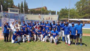 Foto de família de l'equip del CBS Sant Boi guanyador del campionat Europeu // CBS Sant Boi