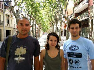 Josep Puigdengolas, Sònia Buira i Marc Massoni // JEV