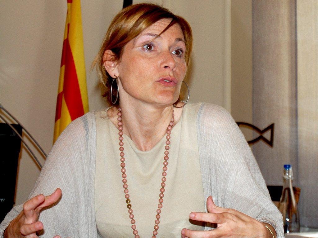 Moret va repassar l'any de mandat i els projecte de futur a Sant Boi // Marc Pidelaserra