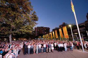 Els Segadors va cloure l'acte institucional // Ajuntament de Sant Boi