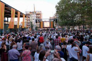 L'acte va comptar amb la participació de la Coral Sant Jordi // Ajuntament de Sant Boi