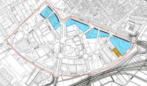 Detall de les parcel·les afectades pel canvi d'usos, entre el carrer Alacant i la rotonda de la Parellada // Ajuntament de Sant Boi