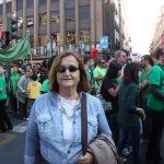 Dolors Vallejo és mestra i vinculada a CCOO // Ràdio Sant Boi