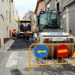 Repavimentació del carrer de les Eres // Ajuntament de Sant Boi