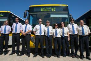 Noves aturades en el servei d'autobusos operats per l'empresa Mohn // Baixbus