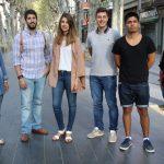 Els sis joves contractats en el projecte Primera Oportunitat // Ajuntament de Sant Boi