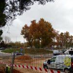 Les obres permetran entrar al barri des de la carretera BV-2002 // Laia Pidelaserra