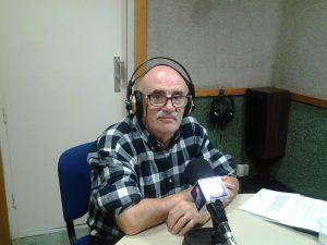 José María Alarcón, durant l'emissió del programa // Tendido 5