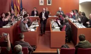 Un instant del ple municipal del mes de desembre // Ajuntament de Sant Boi