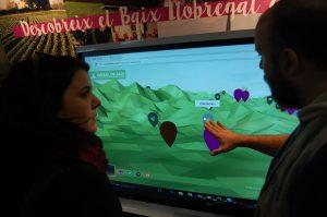 Mostra de l'aplicació interactiva Orgull de Baix // Marc Pidelaserra