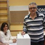 Miquel Amargós durant les eleccions al comité executiu local // PDECat Sant Boi