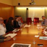Els alcaldes de la BV-2002 fan pinya per tal que es reprenguin les obres // Ajuntament de Sant Boi