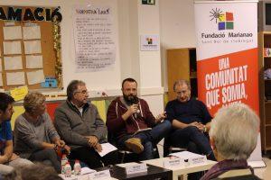 Els representants dels moviments van reivindicar la seva tasca social // Fundació Marianao