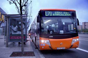L'AMB reforça les línies d'autobús de Sant Boi // Baixbus
