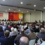 La sala d'actes de la Biblioteca Jordi Rubió va omplir-se per la presentació del Pacte // Jordi Julià