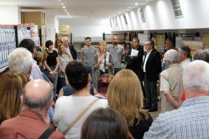 L'alcaldessa, Lluïsa Moret, va inaugurar la nova botiga // Ajuntament de Sant Boi