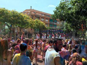 La festa 'holi' de l'any passat // Ajuntament de Sant Boi