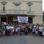 Més de 150 persones van assistir a la concentració // David Bueno
