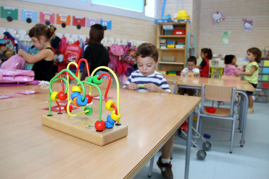 A l'escola bressol La Marta passarà a tenir vuit alumnes de zero a un any // Ajuntament de Sant Boi