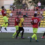 El Sant Andreu - Santboià ha quedat 0-0 // FC Santboià