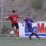 Imatge d'un partit de pretemporada contra el Sabadell B // FC Santboià