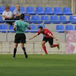 Oriol Molins, el golejador del partit // FC Santboià