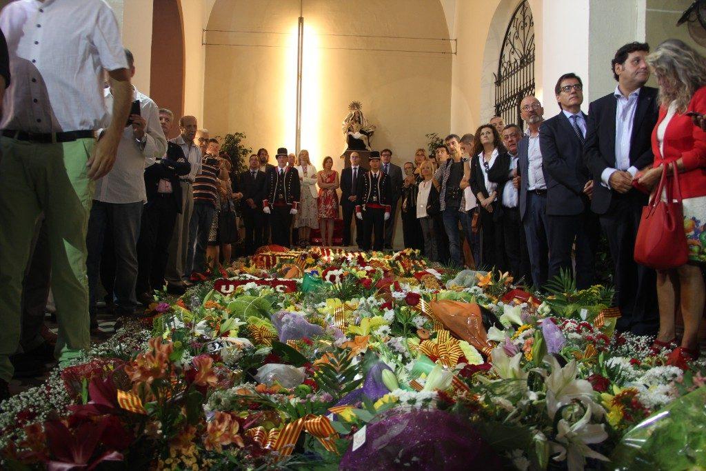 L'ofrena a Rafael Casanova ha estat el centre de la Diada // Jordi Julià