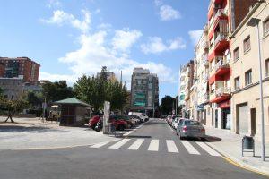 La plaça de la Generalitat ha ampliat voreres i eliminat barreres arquitectòniques // Ajuntament de Sant Boi