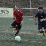 Imatge del Santboià-Vilafranca de la Copa Catalunya // David Ferrer-FC Santboià