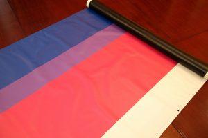 Bandera de la bisexualitat / AJUNTAMENT DE SANT BOI