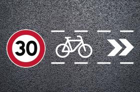 Així serà la nova senyalització de la zona 30 // Ajuntament de Sant Boi