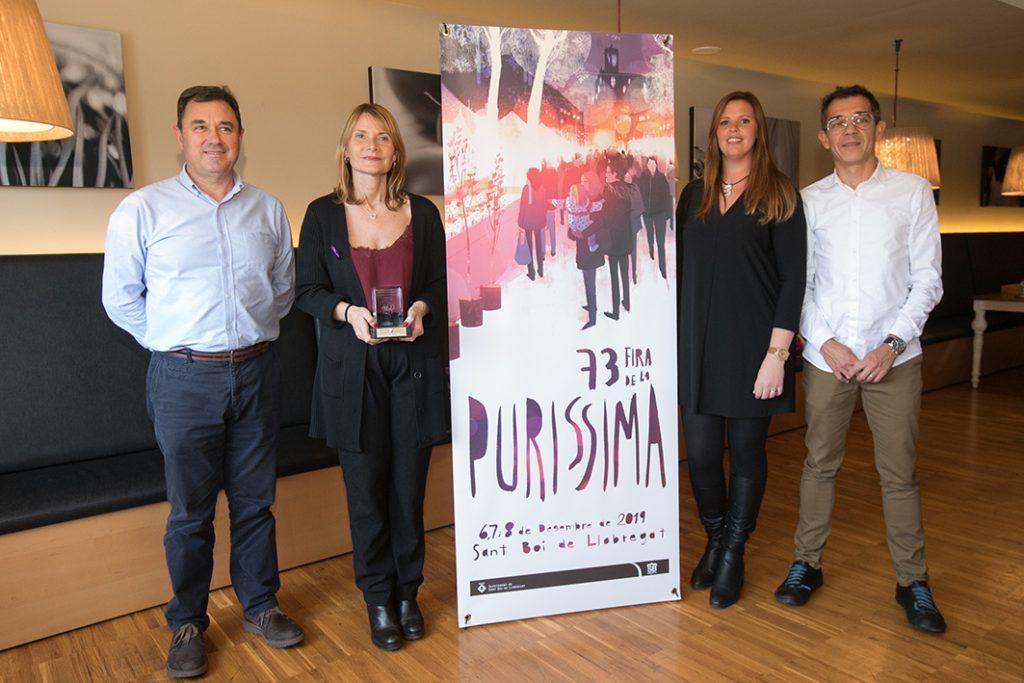 Roda de premsa de presentació de la Puríssima // Ajuntament de Sant Boi